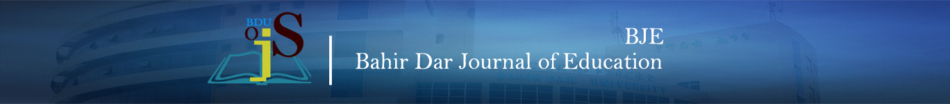 Bahir Dar Journal of Education - BJE