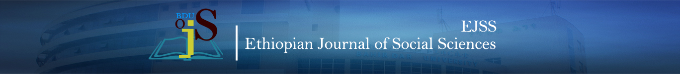 Ethiopian Journal of Social Sciences